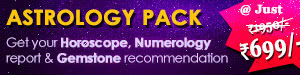 Horoscope, Numerology and birthstone report combo pack