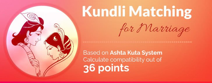 Kundali match making table
