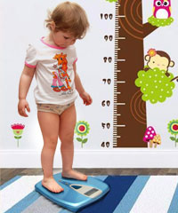 Ideal height & weight for kids