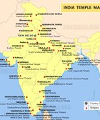 India Temples Map